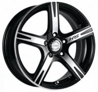 Литые диски Racing Wheels H-372 (BK-FP) 6.5x15 5x100  ET 40 Dia 73.1